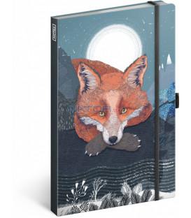 Notes Animalium – Lucie Jenčíková linajkovaný 13 × 21 cm