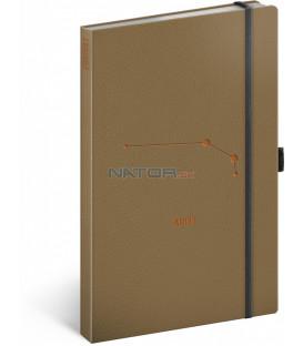 Notes Zverokruh Baran linajkovaný 13 × 21 cm