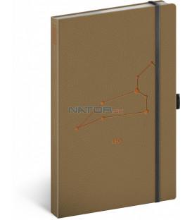 Notes Zverokruh Lev linajkovaný 13 × 21 cm