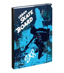 BAAGL Dosky na školské zošity A4 Skateboard