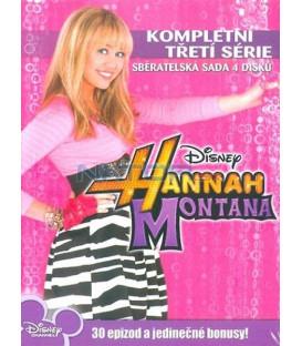 Hannah Montana kompletní 3.série 4DVD  (Hannah Montana Complete 3rd Season)