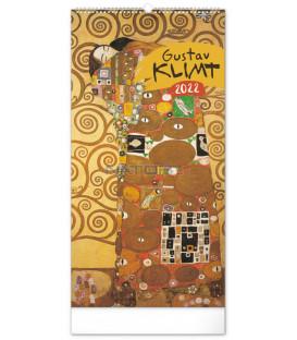 Nástenný kalendár Gustav Klimt 2022 33 × 64 cm