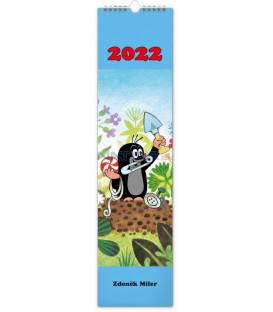 Nástenný kalendár Krtko 2022 12 × 48 cm
