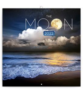 Poznámkový kalendár Mesiac 2022 30 × 30 cm