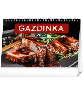 Stolový kalendár Gazdinka 2022 231 × 145 cm