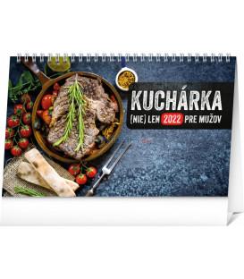 Stolový kalendár Kuchárka (nie)len pre mužov 2022 231 × 145 cm