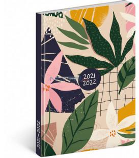 18mesačný diár Petito – Listy 2021/2022 11 × 17 cm