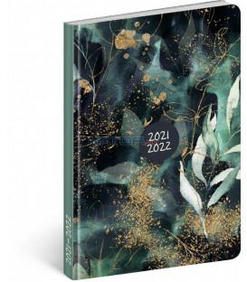 18mesačný diár Petito – Eukalyptus 2021/2022 11 × 17 cm