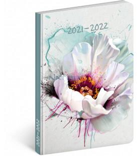 18mesačný diár Petito – Kvet 2021/2022 11 × 17 cm