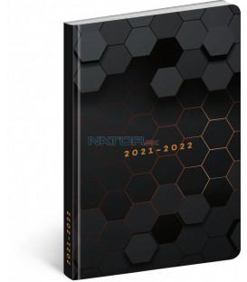 18mesačný diár Petito – Polygón 2021/2022 11 × 17 cm