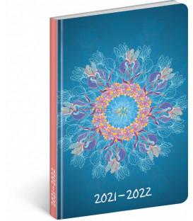 18mesačný diár Petito – Mandala 2021/2022 11 × 17 cm
