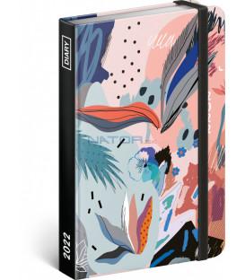 Týždenný diár Abstrakt 2022 11 × 16 cm