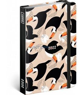 Týždenný diár Tukany 2022 11 × 16 cm
