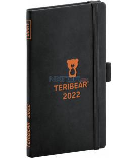 Vreckový diár Teribear 2022 9 × 155 cm