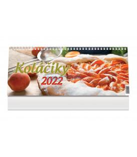 Stolový kalendár Koláčiky 2022