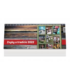 Stolový kalendár Zvyky a tradície 2022