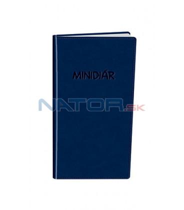 Minidiár mesačný 2022 - modrý
