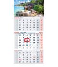 Nástenný kalendár TROJMESAČNÝ 2022 - More