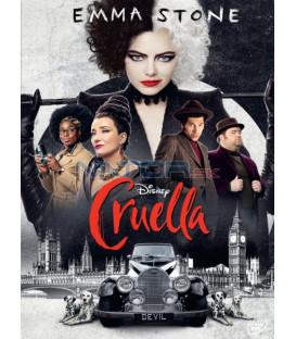 Cruella 2021 DVD