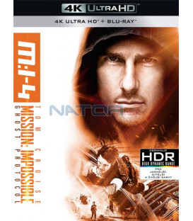 Mission: Impossible Ghost Protocol  (Mission: Impossible Ghost Protocol) (4K Ultra HD) - UHD Blu-ray + Blu-ray