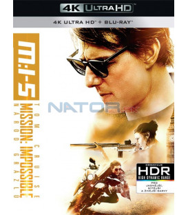 Mission: Impossible 5 – Rogue Nation (Národ grázlů) (4K Ultra HD) - UHD+BD - 2 x Blu-ray