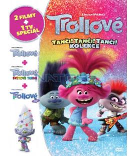 Trollové: Tanči! Tanči! Tanči! kolekce 3DVD