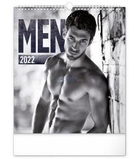 Nástenný kalendár Men 2022, 30 × 34 cm