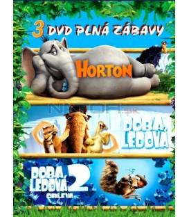 Horton/Doba ledová/Doba ledová 2 -3DVD