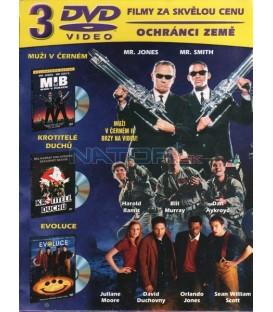 Kolekce: Muži v černém / Evoluce / Krotitelé duchů 3 DVD