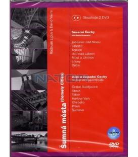 Šumná města 3 - Severní Čechy a Jižní a Západní Čechy - 2x DVD