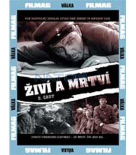 Živí a mrtví 2 čast DVD (Zhivyje i mjortvyje)