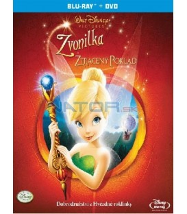 Zvonilka a ztracený poklad- Blu-ray (Tinker Bell and the Lost Treasure)