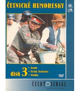 Četnické humoresky 3. DVD - díly 7 až 9