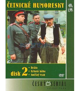 Četnické humoresky 2. DVD - díly 4 až 6