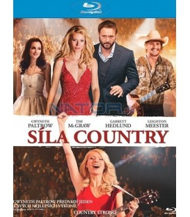 Síla country (Country Strong) Blu-ray