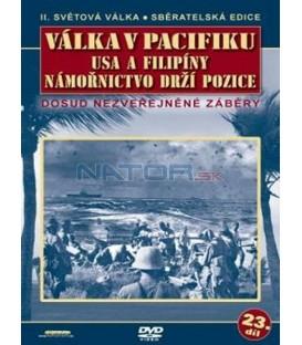 Válka v Pacifiku /USA a Filipíny/Námořnictvo drží pozice DVD