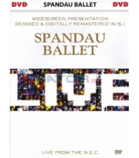 Spandau Ballet - Live from The N. E. C. DVD