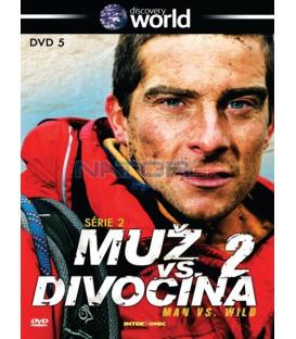 Muž vs. divočina série 2 dvd 5   (Man vs. Wild)