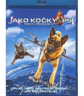 Jako kočky a psi: Pomsta prohnané Kitty Blu-ray + DVD (Combo pack) (Cats and Dogs 2: Revenge of Kitty Galore BD+DVD)