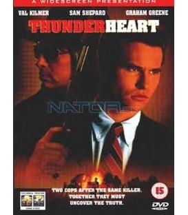 Bouřlivé srdce (Thunderheart) DVD