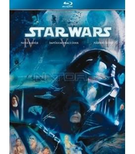Kolekce: Star Wars Trilogie 4-6 3 Blu-ray- SK/CZ dabing