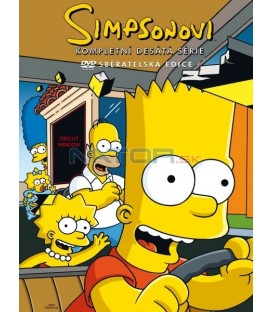 Simpsonovi (seriál)   10.sezóna, 4 DVD, 23 dílů