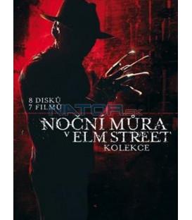 Kolekce: Noční můra v Elm Street 1-7 8 DVD