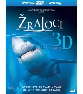 Žraloci 3D Blu-ray