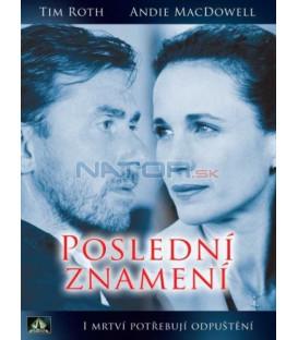 POSLEDNÍ ZNAMENÍ  (THE LAST SIGN) DVD