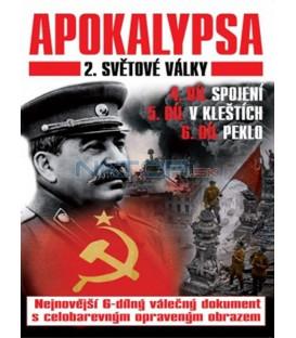 Apokalypsa 2. světové války 4.-6. díl  (Apocalypse la 2éme guerre mondiale 2) DVD