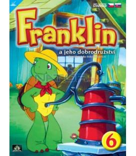 FRANKLIN A JEHO DOBRODRUŽSTVÍ 6  (FRANKLIN KIDS) DVD
