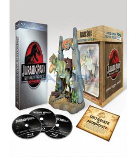 Jurský park trilogie 1.- 3-Limitovaná edice 3 x Blu-ray + figurka T-Rexe