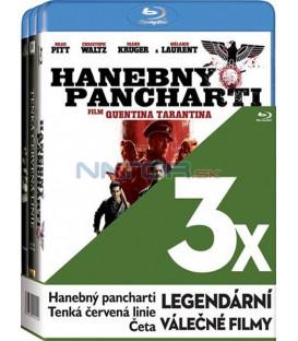 Kolekce: Legendární válečné filmy 3 x Blu-ray