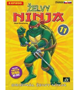 ŽELVY NINJA: 11 (TEENAGE MUTANT NINJA TURTLES) DVD